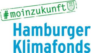 Logo des #moinzukunft Hamburger Klimafonds